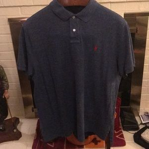 Polo Ralph Lauren custom fit polo. Like new